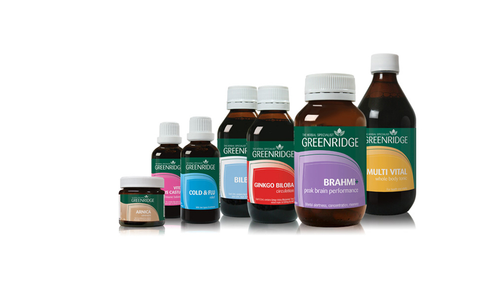Greenridge packaging design