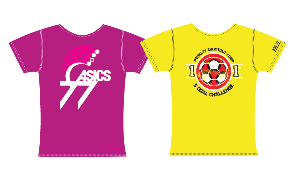 Asics T shirt design