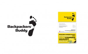 Backpackers Buddy logo design