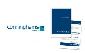 Cunninghams logo design