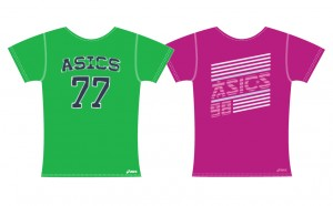 Asics T shirt design