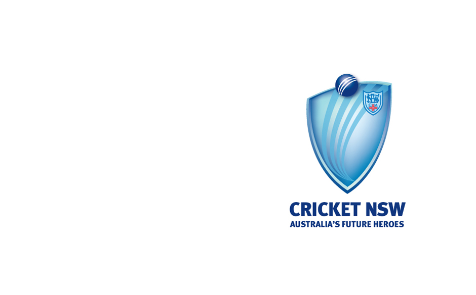 Cricket NSW logo design