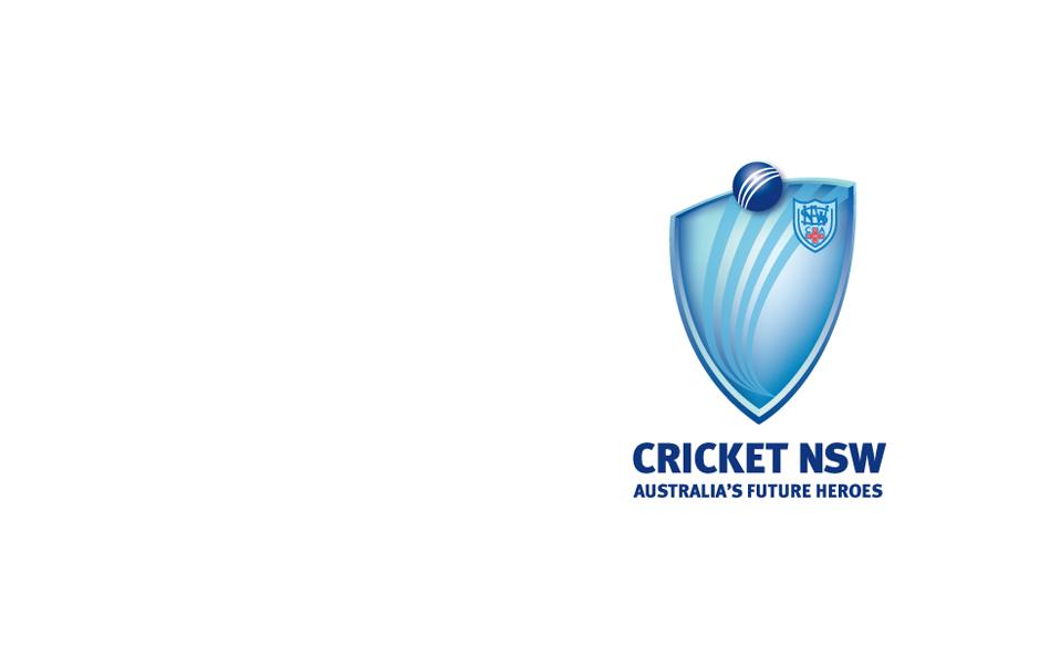 Cricket NSW logo design