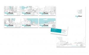 MyClime logo design