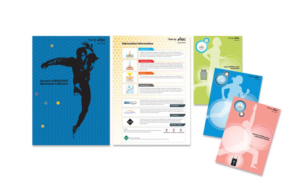 Asics graphic design
