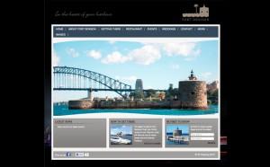 Fort Denison web design