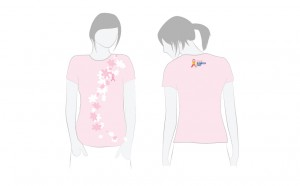 Cancer Council pink ribbon day T shirt design
