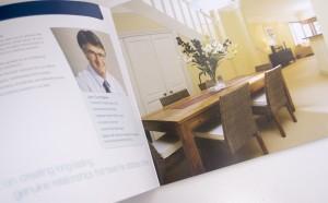 Cunninghams brochure design