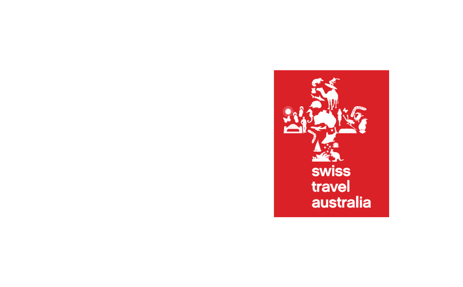 Swiss Travel Australia logo design