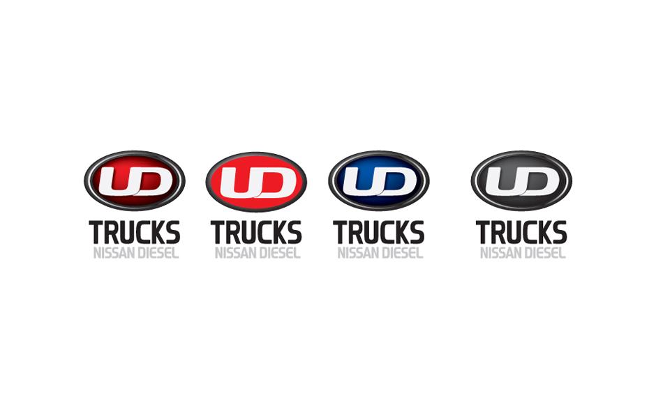 UD Trucks logo design
