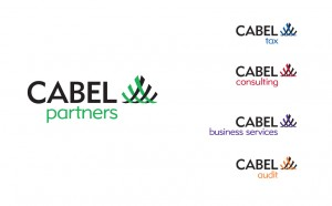 Cabel Partners logo design