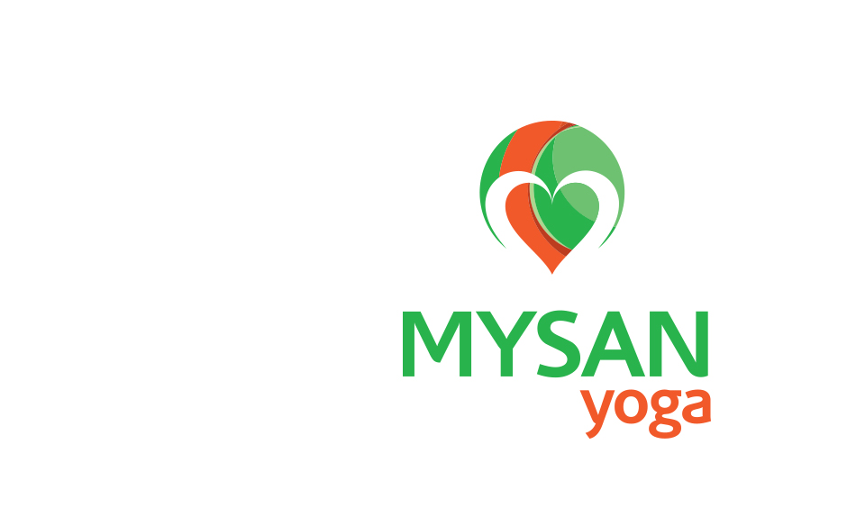 Mysan Yoga logo design