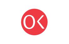 OK logo design