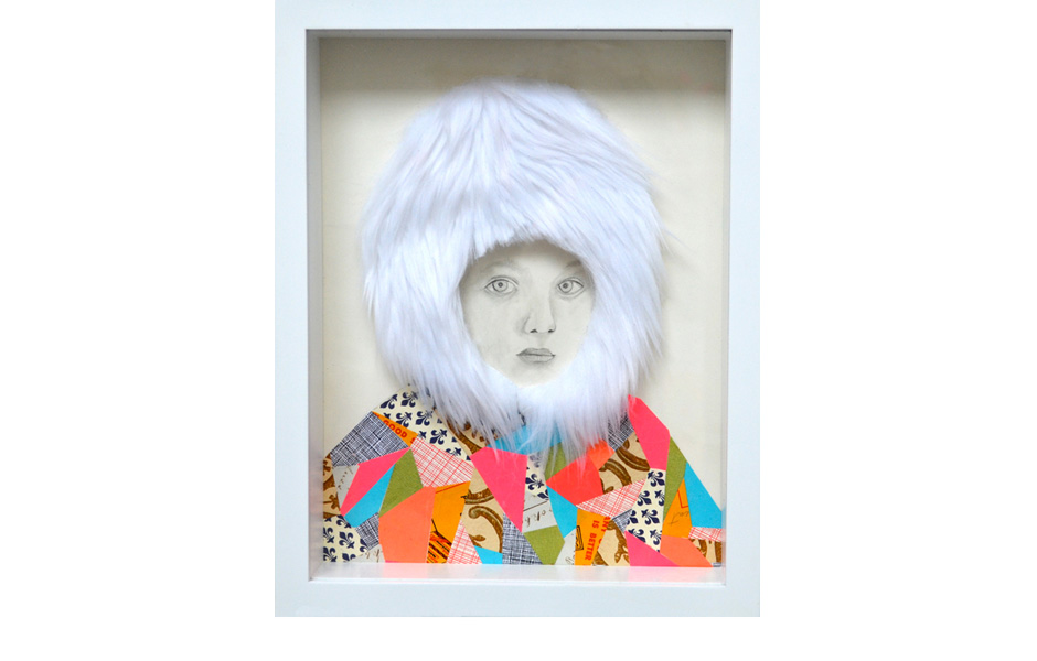 Sami Girl by Lisa Congdon