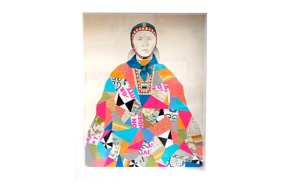 Sami Woman by Lisa Congdon