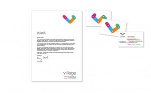 Village logo design