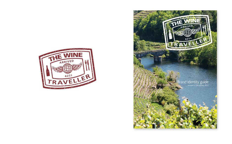 Wine Traveller Branding