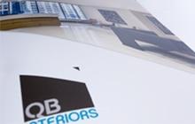 QB Interiors brand communications